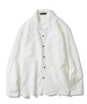 유니폼브릿지() 20ss open collar shirts off white
