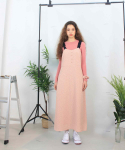 딜라이디(DELIDI) Aria dot dress (pink)