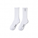 산타크루즈() Strip high socks - White