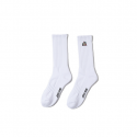산타크루즈(SANTA CRUZ) Not A Dot Patch high socks - White
