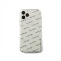 어피스오브케이크(APOC) Logo Phone Case_Clear