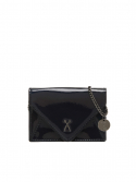 조셉앤스테이시(JOSEPH&STACEY) Easypass Amante Card Wallet with Chain Mirror Black