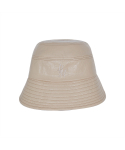 써틴먼스() STITCH LEATHER BUCKET HAT (BEIGE)