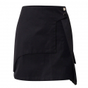 쿠드그라스() POCKET SHORT SKIRT BLACK