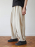 말렌(MALEN) unisex linen button balloon pants beige
