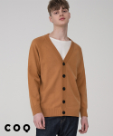 씨오큐() Basic overfit cardigan_brown