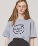 디폴트(DEFAULT) DV CIRCLE LOGO TEE(BLUE)