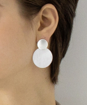 이오유스튜디오(EOU STUDIO) duo round earring