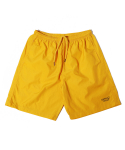 디폴트() DV SIGN LOGO SHORT PANTS(YELLOW)