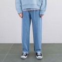 핸즈인더포켓() DENIM SEMI WIDE FIT PA (BLUE) CNPA0EP05B2