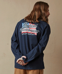 [PENFIELD X FRIZMWORKS] AMERICAN FLAG LONG SLEEVE _ NAVY