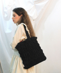 딜라이디(DELIDI) Wave smocking bagⅡ(black)