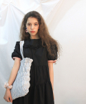 딜라이디(DELIDI) Wave smocking bagⅡ(light gray)