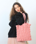 딜라이디(DELIDI) Wave smocking bagⅡ(pink)