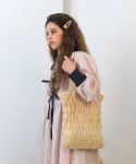 딜라이디(DELIDI) Wave smocking bagⅡ(light yellow)