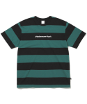 디스이즈네버댓(THISISNEVERTHAT) SP-Logo Striped Tee Black/Green