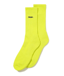 디스이즈네버댓(THISISNEVERTHAT) HSP-Logo Socks Lime