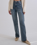 낫어스(NOTUS) SIDE SLIT STRAIGHT DENIM PANTS