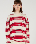 매치글로브() MG0S MULTI STRIPE KNIT MTM (IVORY)