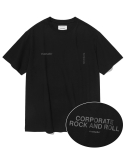 비바스튜디오(VIVASTUDIO) NEW CORPORATE SHORT SLEEVE JS [BLACK]