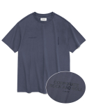 비바스튜디오(VIVASTUDIO) NEW CORPORATE SHORT SLEEVE JS [BLUE GREY]