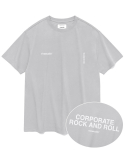 비바스튜디오(VIVASTUDIO) NEW CORPORATE SHORT SLEEVE JS [LIGHT GREY]