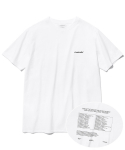 비바스튜디오(VIVASTUDIO) FUTURE PROOF SHORT SLEEVE JS [WHITE]