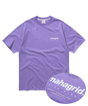 마하그리드(MAHAGRID) ORIGIN LOGO TEE PURPLE(MG2AMMT500A)