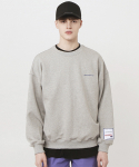 플리즈플리즈미() signature sweatshirt_Grey