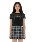 큐리티() C MISSBLING SEE-THROUGH T-SHIRT_BLACK
