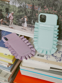 하이칙스(HIGH CHEEKS) Audrey Ruffle Phonecase_Mint