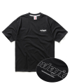 BACK THIRD LOGO TEE BLACK(MG2AMMT501A)
