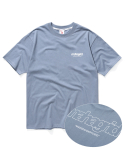 마하그리드(MAHAGRID) BACK THIRD LOGO TEE BLUE(MG2AMMT501A)