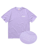 마하그리드(MAHAGRID) BACK THIRD LOGO TEE PURPLE(MG2AMMT501A)
