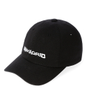 마하그리드() WAVY LOGO WASHED B.B CAP BLACK(MG2ASMAB22A)