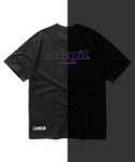 마하그리드(MAHAGRID) RAINBOW REFLECTIVE THIRD LOGO TEE BLACK(MG2AMMT507A)