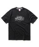 마하그리드(MAHAGRID) OVERRAY TEE BLACK(MG2AMMT502B)