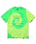 마하그리드(MAHAGRID) BIG TIEDYE TEE LIME(MG2AMMT517B)