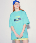 알엘오엘(R:LOL) (TS-20314) DOUBLE LOGO T-SHIRT MINT