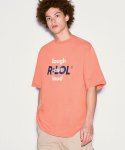 알엘오엘(R:LOL) (TS-20314) DOUBLE LOGO T-SHIRT CORAL
