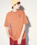 알엘오엘(R:LOL) (TS-20303) VERTICAL LOGO T-SHIRT BROWN