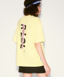 알엘오엘(R:LOL) (TS-20303) VERTICAL LOGO T-SHIRT YELLOW