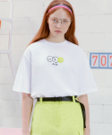 알엘오엘(R:LOL) (TS-20301) SMILE T-SHIRT WHITE