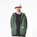 NBMDA2L113 / UNI NB TNT ZIP UP SWEAT_(49)Khaki