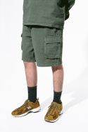 NBNVA2L113 / UNI NB TNT SWEAT SHORTS_(49)Khaki
