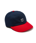 위캔더스(WKNDRS) W LOGO COLOR CAP (NAVY)