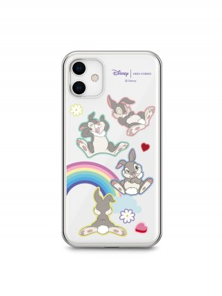 하이칙스(HIGH CHEEKS) Rainbow Thumper Clear Phonecase