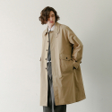데일리인() RECEPTION UNIFORM OVERSIZED BALMACAAN COAT (BEIGE)