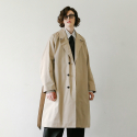 데일리인() BELL MAN UNIFORM OVERSIZED ROBE COAT (LIGHT BEIGE)