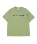 예스아이씨() N-Logo Tee Sap Green